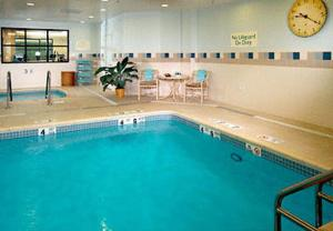 The swimming pool at or near Courtyard by Marriott Stamford Downtown