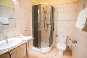 Łazienka w obiekcie Business Hotel Vega Wrocław
