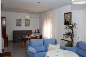Zona de estar de Vivienda turística María de Padilla