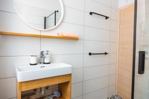A bathroom at Apartments Port House