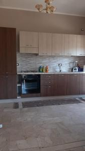 A kitchen or kitchenette at Appartment in Sizilien Ribera
