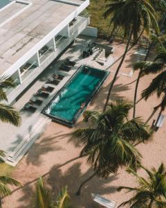 Вид на бассейн в Serendivi Resort Villa или окрестностях