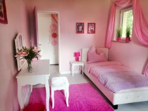 Ein Bett oder Betten in einem Zimmer der Unterkunft Lighane's Studio with Sailor Moon Room