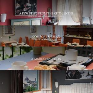 A restaurant or other place to eat at Hotel Caravaggio