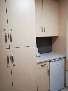 Kuchyňa alebo kuchynka v ubytovaní Dom Studencki Zaułek
