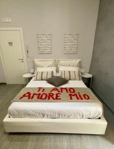 Letto o letti in una camera di BeBaSu