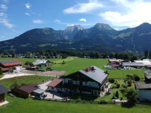 A bird's-eye view of Hotel - Pension Alpenstern