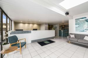 The lobby or reception area at Quality Hotel City Centre