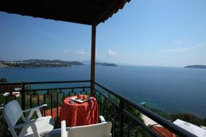 En balkong eller terrasse på Villa Melia