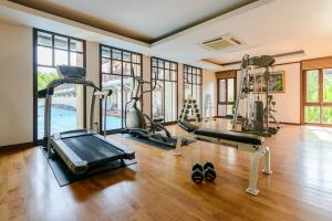 The fitness center and/or fitness facilities at Khaolak Oriental Resort