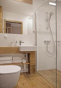Łazienka w obiekcie Dom Wczasowy Beskidy