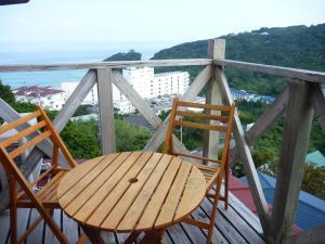 Izu Shirahama South Beach - Vacation Stayにあるバルコニーまたはテラス