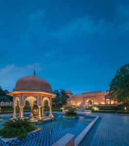 The swimming pool at or close to The Oberoi Rajvilas Jaipur