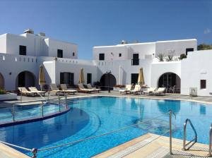 The swimming pool at or near Astir Of Naxos