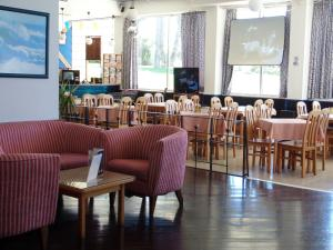 Een restaurant of ander eetgelegenheid bij Hotel Luar
