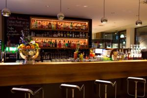 The lounge or bar area at aletto Hotel Kudamm