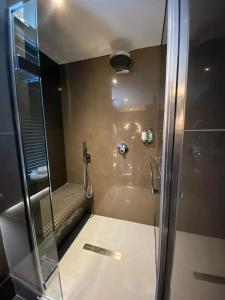 A bathroom at The Bold Hotel; BW Signature Collection