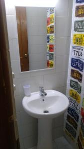 Un baño de Islanet Hostel & Bar
