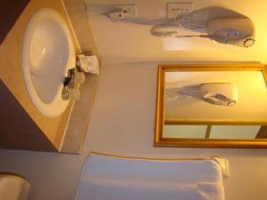 Salle de bains dans l'établissement Hotel Quartier Latin