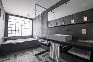 A bathroom at Asakusa Kokono Club Hotel