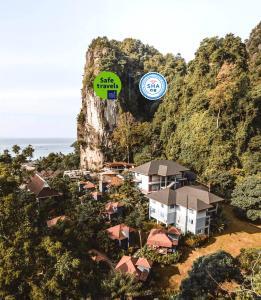 A bird's-eye view of Railay Phutawan Resort - SHA Certified