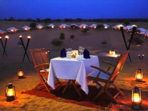 A restaurant or other place to eat at Desert Heritage Safari Camp