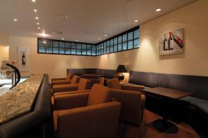 The lounge or bar area at Seminaris Hotel Bad Boll