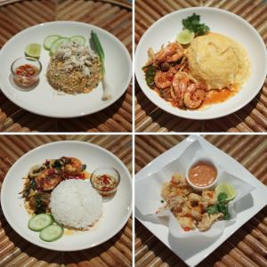 Lunch and/or dinner options for guests at Ther Villa เธอ วิลล่า & รีสอร์ท