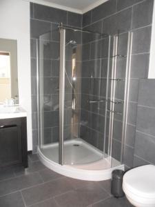 A bathroom at B&B Caramel