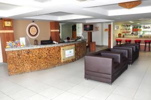 The lobby or reception area at Bello Mare Conforto