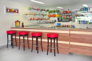 The lounge or bar area at Bello Mare Conforto