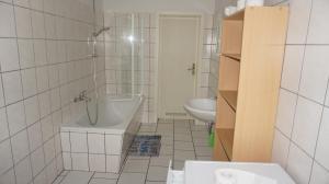 A bathroom at Hostel Falkenstein