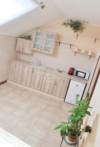 Кухня или мини-кухня в Zatyshok