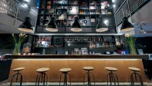 הלאונג' או אזור הבר ב-Ruby Sofie Hotel Vienna