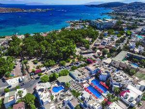 Een luchtfoto van The Hello Hotel