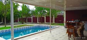 A piscina localizada em Gabala Marvelous House ou nos arredores