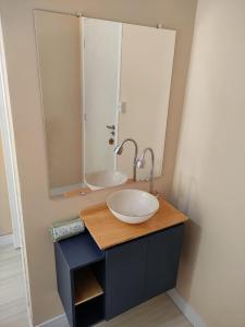 A bathroom at Pousada Bravo House