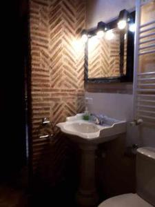 A bathroom at La Pedraza B