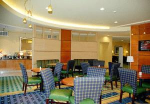 A restaurant or other place to eat at SpringHill Suites Prince Frederick