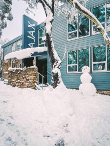 Ajax Ski Club during the winter