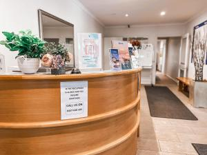 The lobby or reception area at Ajax Ski Club