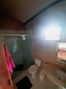 A bathroom at Espaço Puri