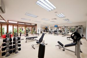 The fitness centre and/or fitness facilities at Kuramathi Maldives