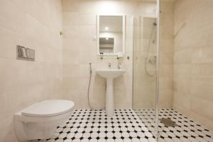 Vannituba majutusasutuses Hotell Wesenbergh