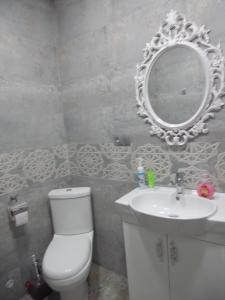 A bathroom at Guest House Tamta