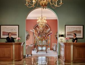 The lobby or reception area at Château Saint-Martin & Spa - an Oetker Collection Hotel