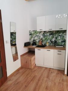 Kuchnia lub aneks kuchenny w obiekcie Kamienica Sopot Apartamenty