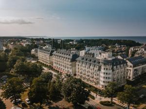 A bird's-eye view of Hotel Trzy Wyspy