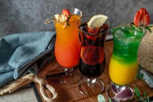 Drinks at Hotel Trzy Wyspy