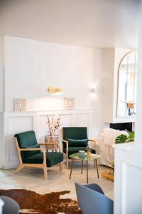A seating area at Casa Julia